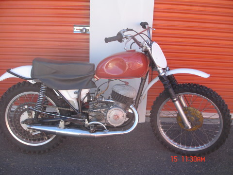 1967 CZ 250 Twin Port